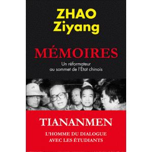 Lu pour vous - Mémoires d'outre tombe de Zhao Ziyang dans Auteurs, écrivains, polygraphes, nègres, etc. Couv-fr
